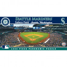 Seattle Mariners 1000 Pc. Panoramic Puzzle