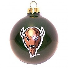 Marshall Thundering Herd Small Painted Round Ornament