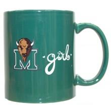 Marshall Thundering Herd Team Color Marshall Girl 12oz Mug