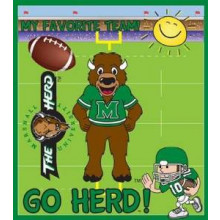 Marshall Thundering Herd 24 Piece Youth Puzzle