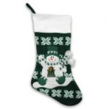 "Marshall Thundering Herd  22"" Snowflake Christmas Stocking"