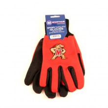 Maryland Terrapins Team Color Utility Gloves