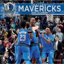 Dallas Mavericks 12 x 12 Wall Calendar