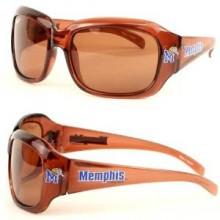 Memphis Tigers Large Brown Frame Sunglasses