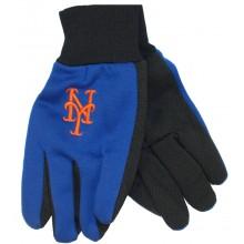 MLB New York Mets Team Color Utility Gloves