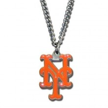 New York Mets Logo Chain Necklace