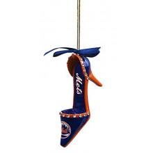 New York Mets Team High Heel Shoe Ornament
