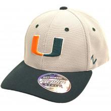 Miami Hurricanes Top Speed M/L Flex Fit Hat