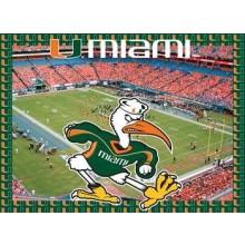 Miami Hurricanes 500 Piece Puzzle