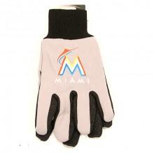 MLB Miami Marlins Team Color Utility Gloves
