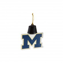Michigan Wolverines Acrylic LED Light Up Ornament