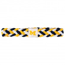 Michigan Wolverines Braided Headband