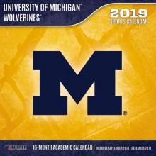 Michigan Wolverines 12 x 12 Wall Calendar (2019)