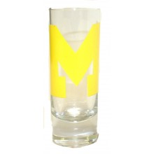 Michigan Wolverines 2 oz Cordial Shot Glass
