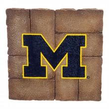 Michigan Wolverines 12 inch x 12 inch Garden Stone