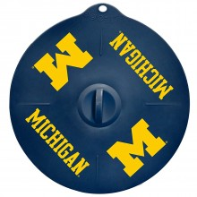 "Michigan Wolverines 9"" Silicone Lid"