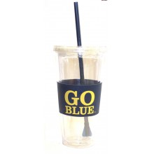 "Michigan Wolverines ""Go Blue""  22 oz Slogan Tumbler"