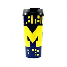 Michigan Wolverines 16-ounce Insulated Travel Mug