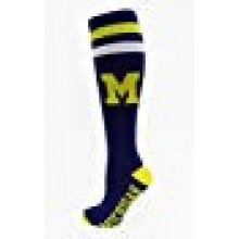 Michigan Wolverines Blue Tube Socks