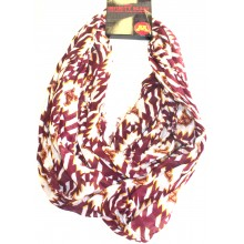 NCAA Licensed Minnesota Golden Gophers Aztec Infinity Scarf