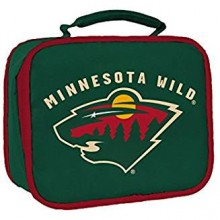 NHL Minnesota Wild Sacked Insulated Lunch Cooler Bag