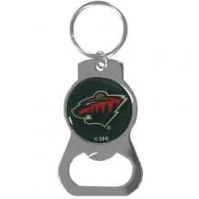 Minnesota Wild Bottle Opener Keychain