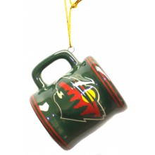 Minnesota Wild Ceramic Mini Mug Ornament
