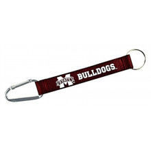Mississippi State Bulldogs Carabiner Lanyard Key Chain