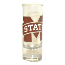 Mississippi State Bulldogs 2 oz Cordial Shot Glass