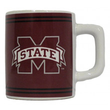 Mississippi State Bulldogs 2 oz Mini Mug Shot Glass