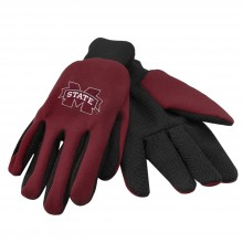 Mississippi State Bulldogs Team Color Utility Gloves