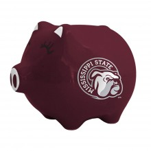 Mississippi State Bulldogs Ceramic Piggy Bank