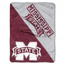 Mississippi State Bulldogs Super Plush Fleece Throw
