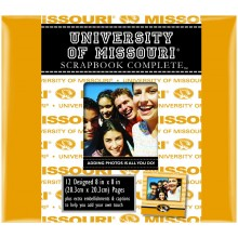 "Missouri Tigers 8"" X 8"" Complete Scrapbook Kit"