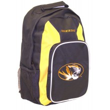 NCAA Missouir Mizzou Tigers Gold Southpaw  Backpack