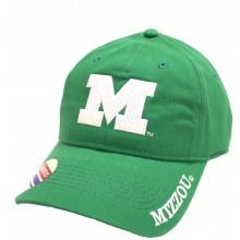 Missouri Mizzou Tigers Greem Womens Adjustable Hat