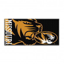 "Missouri Mizzou Tigers  34"" x 70"" Oversized  Beach Towel"