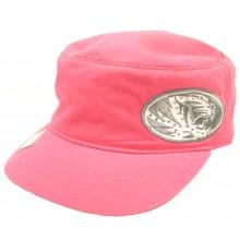 Missouri Mizzou Tigers Womens Sparkle Pink Flat Top Hat Cap Lid