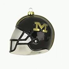 Missouri  Mizzou Tigers Glass Helmet Ornament