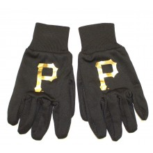 MLB Pittsburgh Pirates Metalic Logo Utility Gloves
