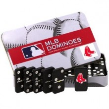 Boston Red Sox Double Six Domino Set