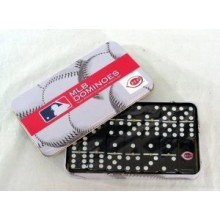 Cincinnati Reds Double Six Domino Set