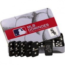 Chicago White Sox Double Six Domino Set