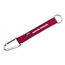 NCAA Montana Grizzlies Carabiner Lanyard Key Chain
