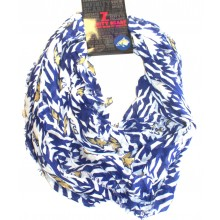 NCAA Licensed Montana State Bobcats Aztec Infinity Scarf
