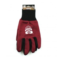 Montanna Grizzlies Team Color Utility Gloves