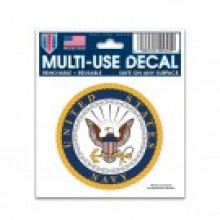 """United States Navy Multi-Use Decal 3"""" X 4"""""""