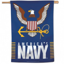 "United States Navy Vertical 28"" X 40"" Flag"