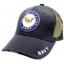 United States Navy Crown Logo Adjustable Hat