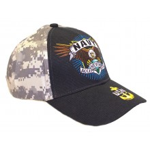 United States Navy Never Accept Defeat Adjustable Hat